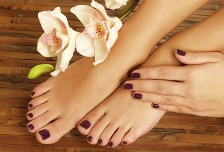ημιμόνιμο Manicure - Pedicure